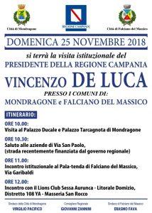 locadina-manifesto-visita-De-Luca-214x300 IL GOVERNATORE DELLA REGIONE CAMPANIA VINCENZO DE LUCA IN VISITA ISTITUZIONALE A MONDRAGONE E FALCIANO