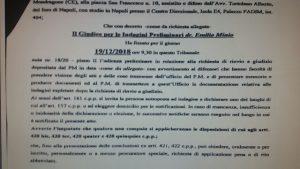 nota-1-300x169 DIFFAMAZIONE A MEZZO STAMPA CONTRO SCHIAPPA: FISSATA L'UDIENZA PRELIMINARE PER I GIORNALISTI E POLITICI COINVOLTI . I FATTI RISALGONO AL 2014