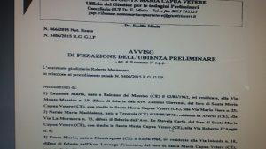 nota-2-300x169 DIFFAMAZIONE A MEZZO STAMPA CONTRO SCHIAPPA: FISSATA L'UDIENZA PRELIMINARE PER I GIORNALISTI E POLITICI COINVOLTI . I FATTI RISALGONO AL 2014