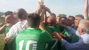 premiazione-3-300x169 Campionato Amatoriale 2018-19: Champions e Supercoppa al Falernum Falciano, battuto nella finalissima il Vstars Vairano 2-0